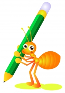 WRITING ANT